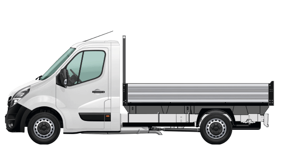DROPSIDE CHASSIS CAB
