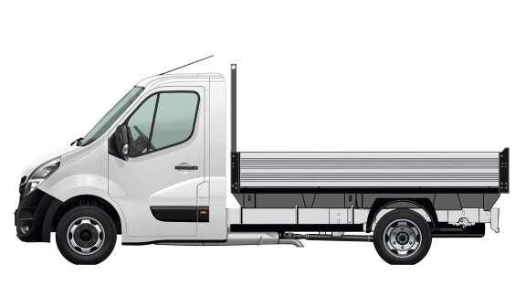 TIPPER CHASSIS CAB